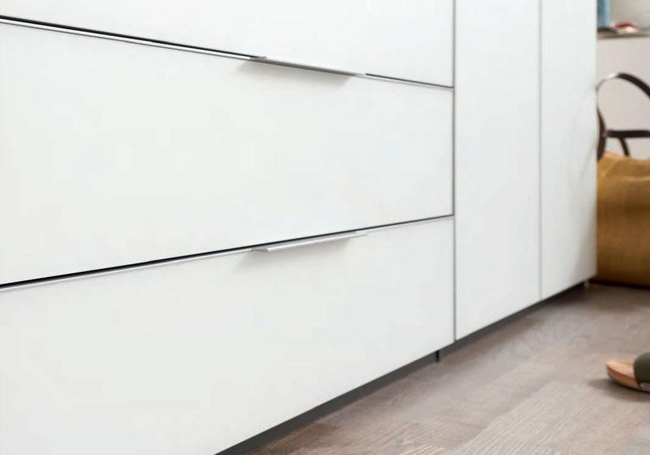 Genial Slimline Cabinate Doors Handles